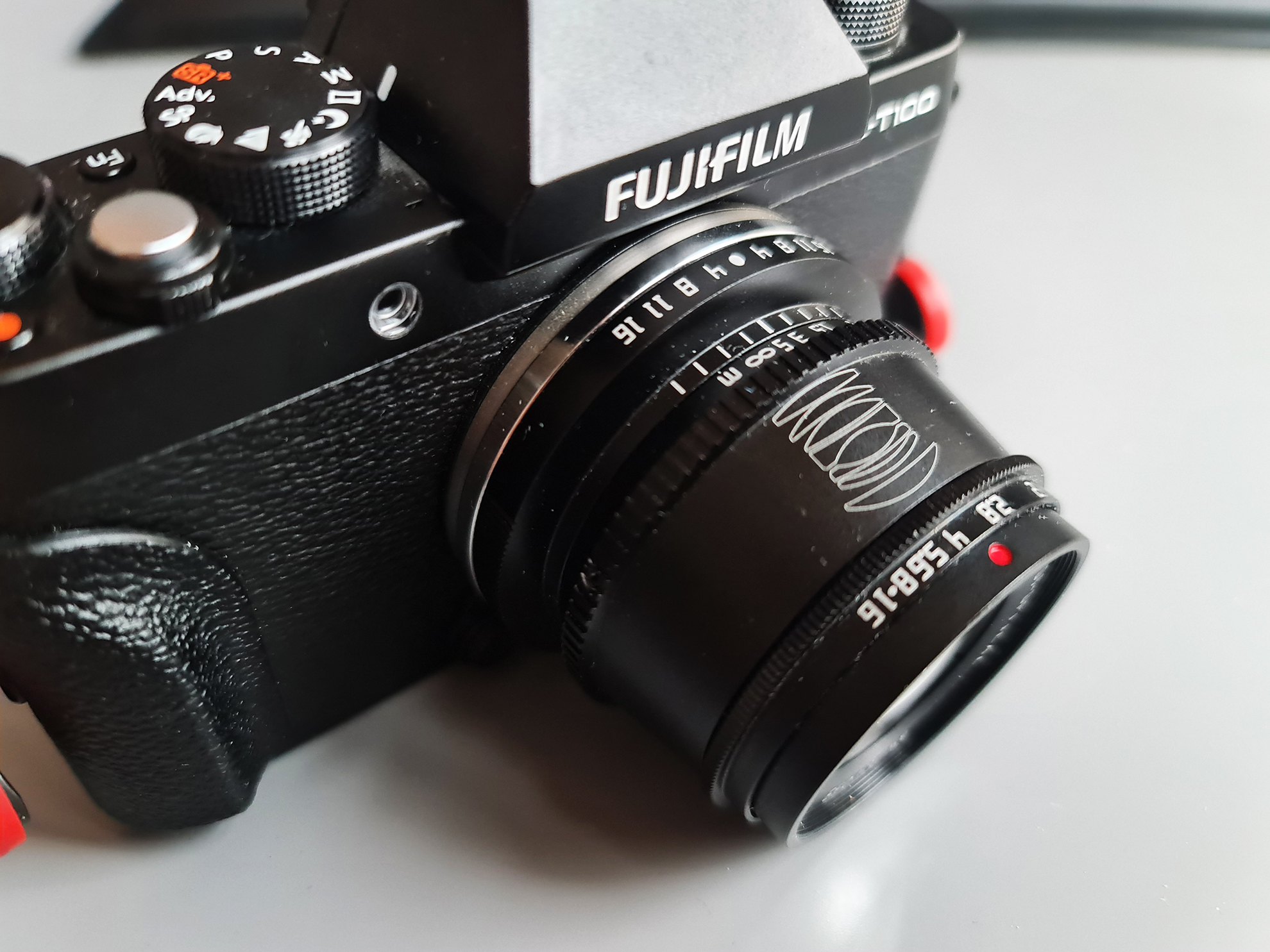 TTArtisan 35mm F1.4 on a Fujifilm X-T100