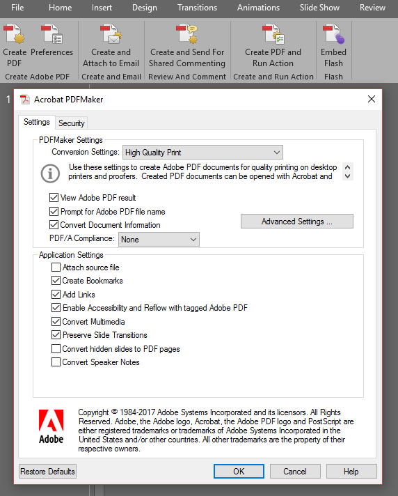 Quick Tip: High-Resolution Export from Microsoft Office